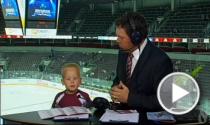 Mazais hokeja fans